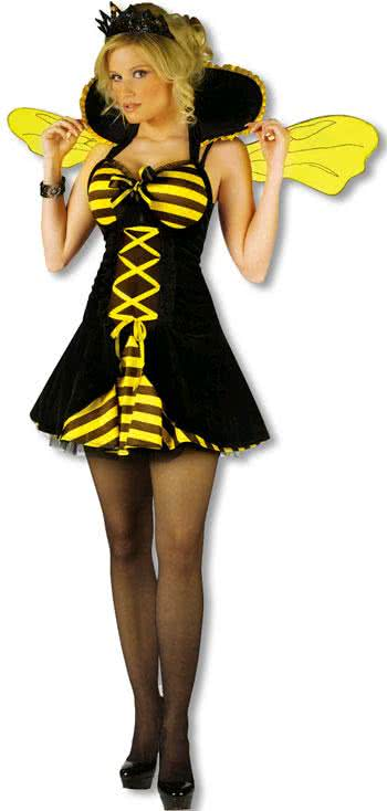 Sexy queen bee costume