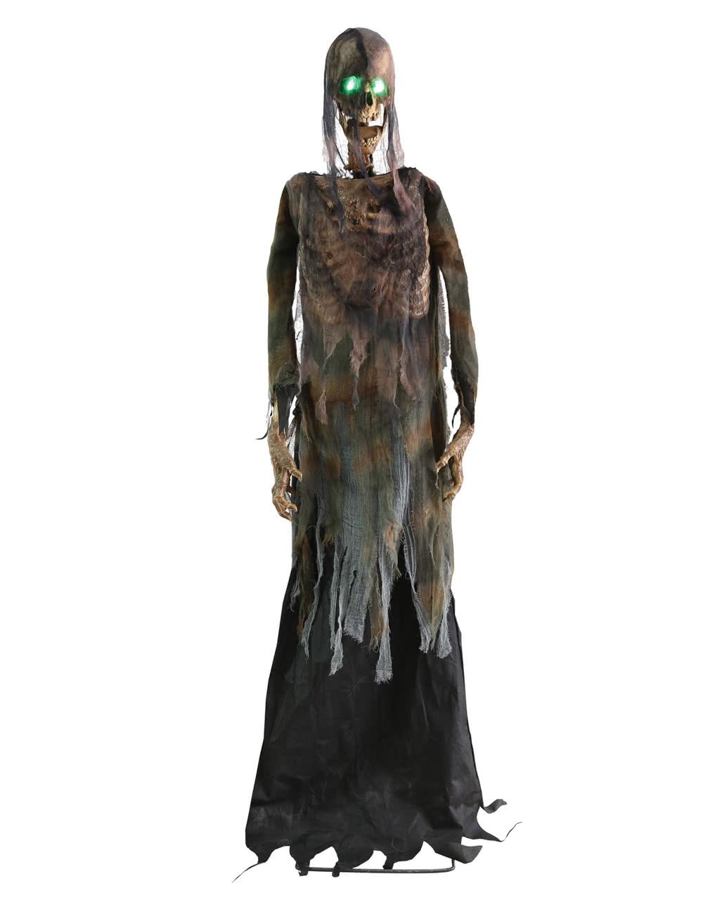 creepy halloween skeleton with sound movement
