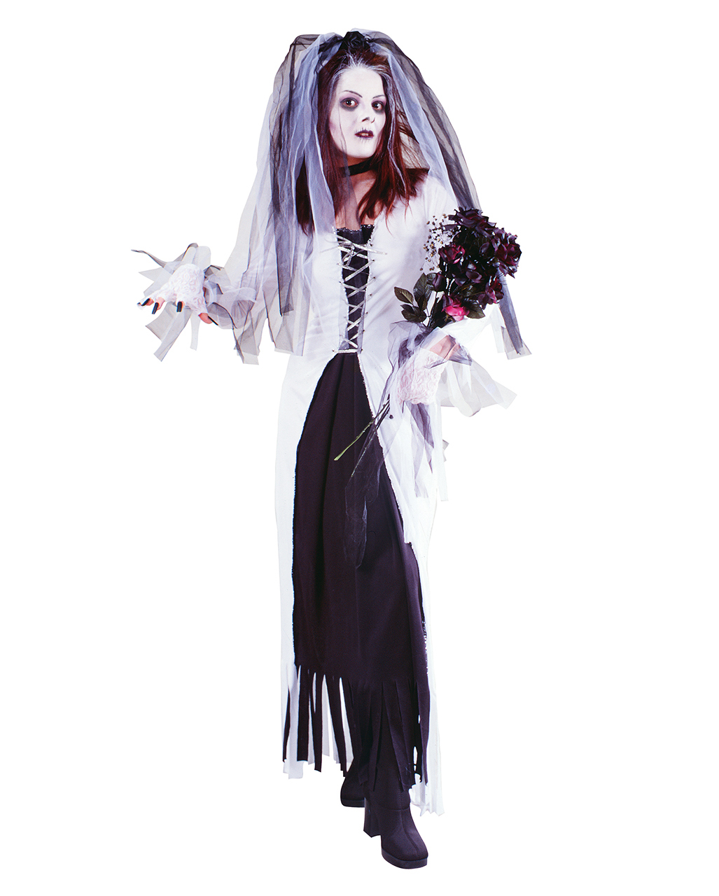 ghost bride costume ladies