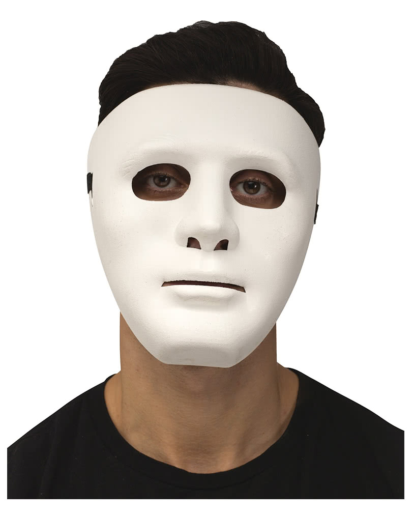 face mask white | halloween accessory | horror-shop