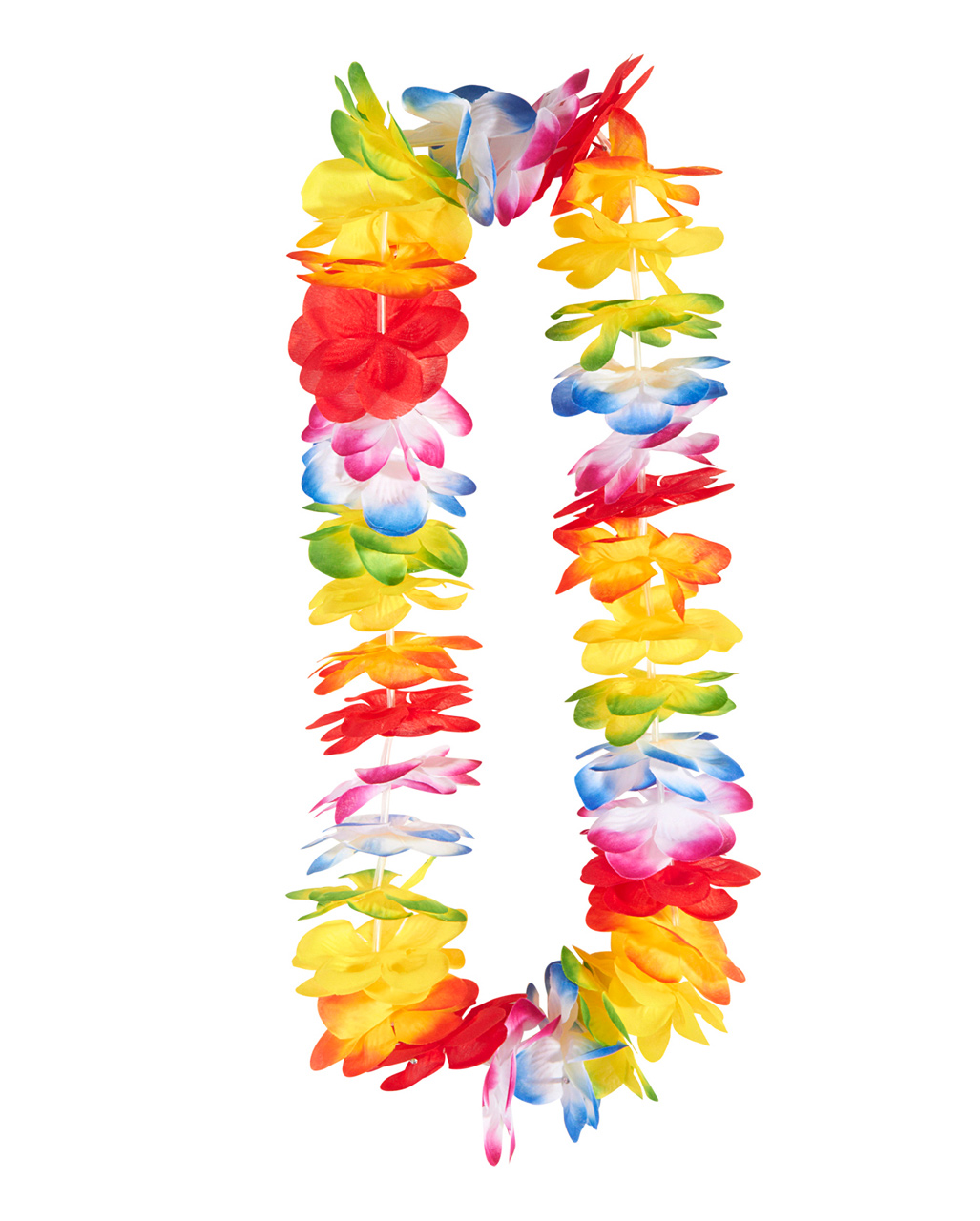 Colorful Flower Necklace Hawaii As A Costume Accessory Horror