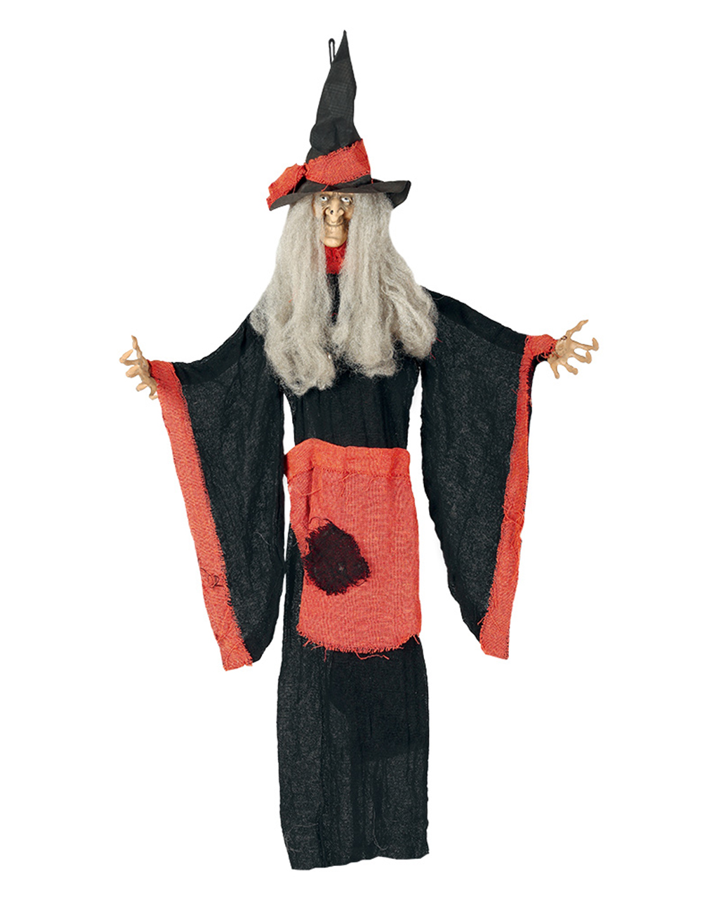 witch hanging figure for halloween deco 100cm | horror-shop