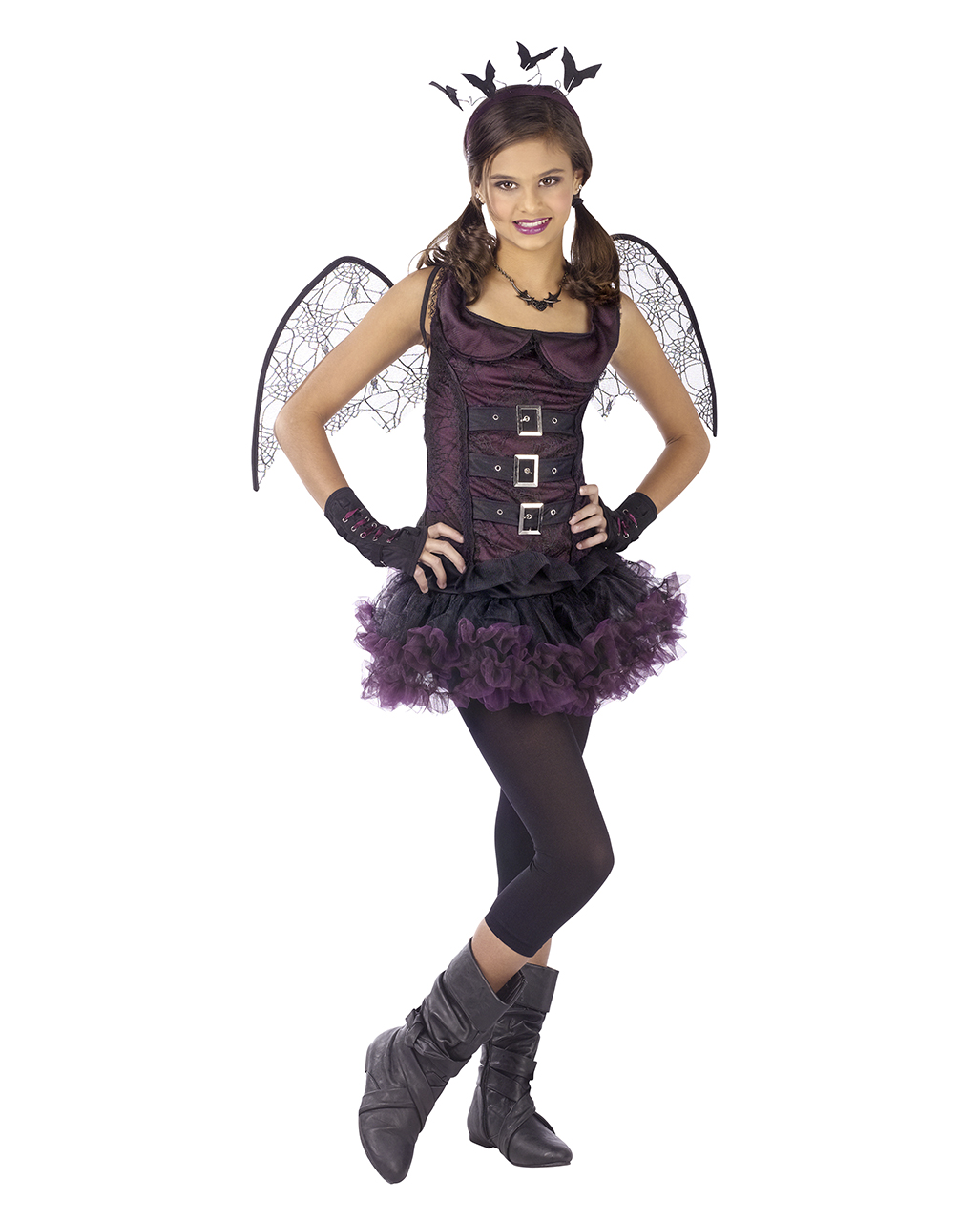 spider bat costume teen violet | naughty halloween costume for teens