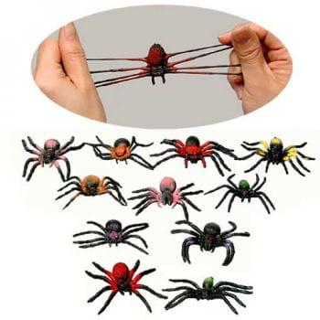 12 Slimy Stretch spiders