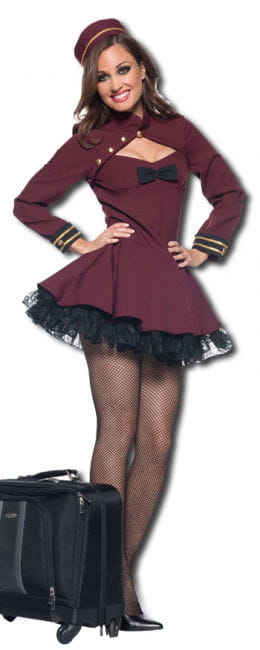 Saucy Bellhop Premium Costume L
