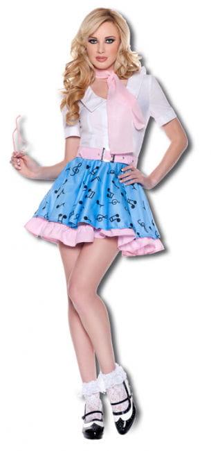 Rock n Roll Girl Premium Kostüm Gr. S