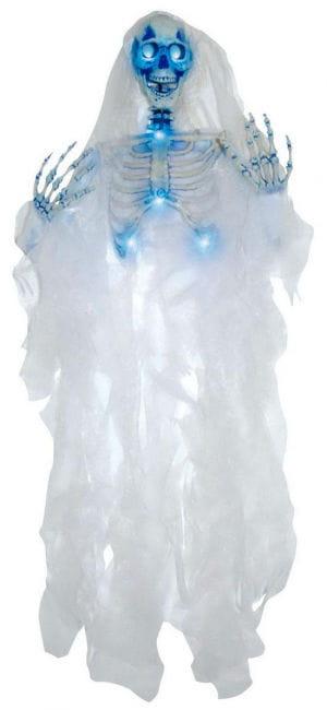 Leuchtende skelettierte Braut