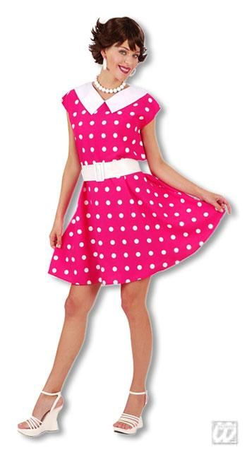 Pinkes kleid schminke