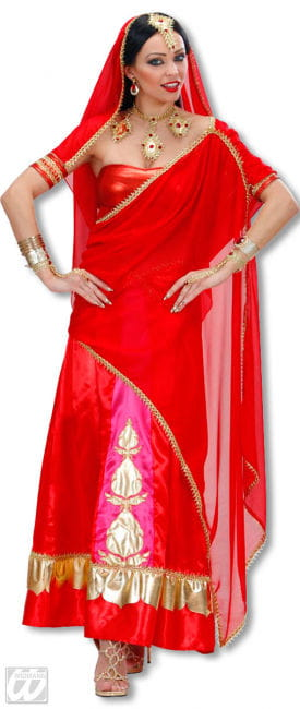 Bollywood Diva Kostüm