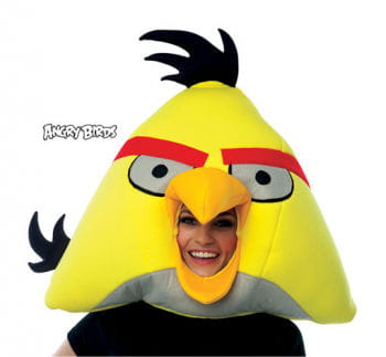 Angry Birds mask yellow