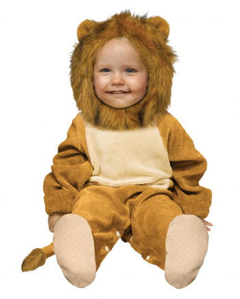 Kuschliger Löwe Babykostüm 6-12 Mo