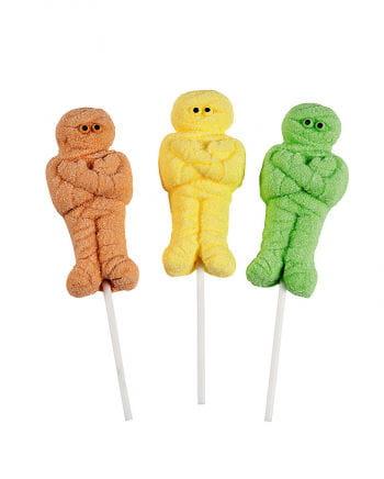 Marshmallow Mumie am Stick