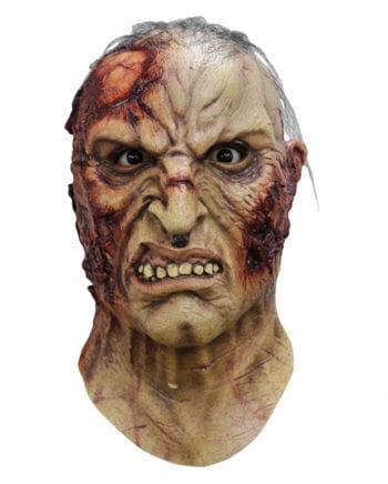 Mortus Zombie Maske mit Haaren