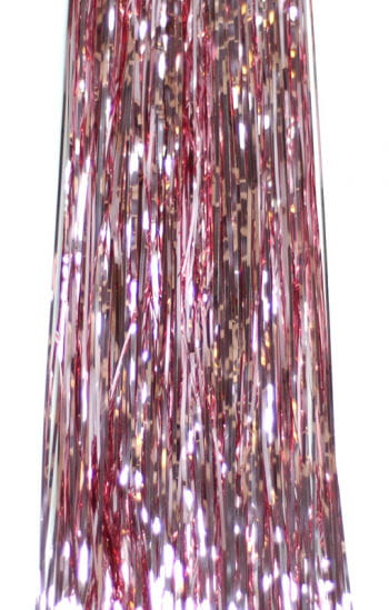 Foil Tinsel Lametta Light Pink