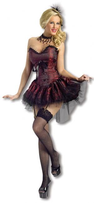 Saloon Lady Kostüm S/M 34-36