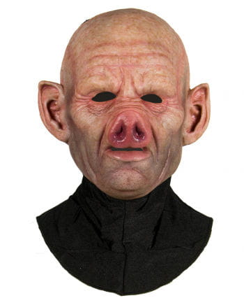 Silicone Half Mask Pig