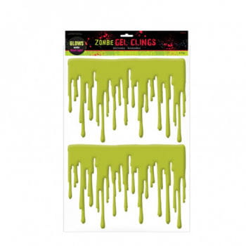 Zombie Fensterblut/ Drips of Zombie-Blood